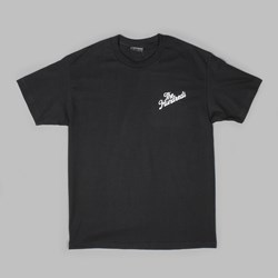 THE HUNDREDS FOREVER SLANT CREST TEE BLACK