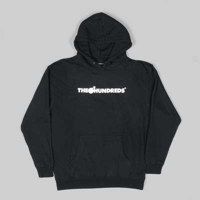 THE HUNDREDS FOREVER BAR PO HOODY BLACK