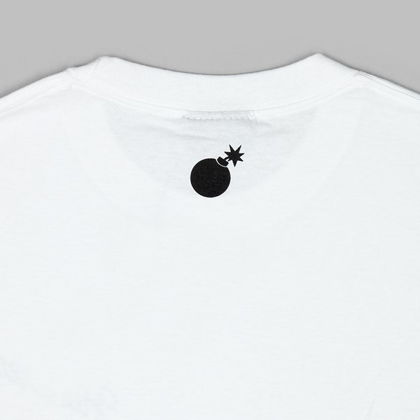 THE HUNDREDS FOREVER SLANT CREST TEE WHITE