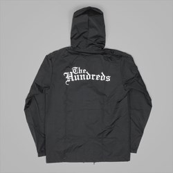 THE HUNDREDS 'ROSE ENGLISH' COACHES JACKET BLACK