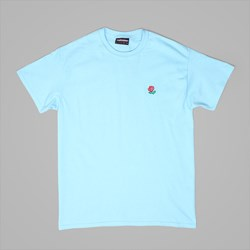 THE HUNDREDS 'ROSE ENGLISH' TEE PACIFIC BLUE