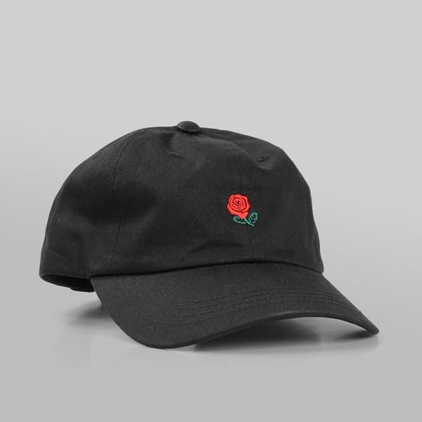 7fa95ac612215 THE HUNDREDS  THE ROSE HAT  5 PANEL CAP BLACK