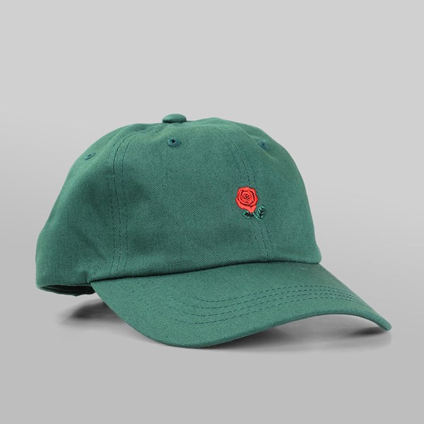 THE HUNDREDS 'THE ROSE HAT' 5 PANEL CAP FOREST
