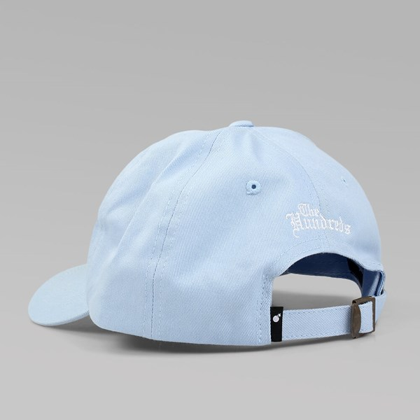 0c0c8acc4d6 THE HUNDREDS  THE ROSE HAT  5 PANEL CAP LT BLUE