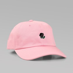 THE HUNDREDS 'THE ROSE HAT' 5 PANEL CAP PINK