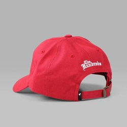 THE HUNDREDS 'THE ROSE HAT' 5 PANEL CAP RED