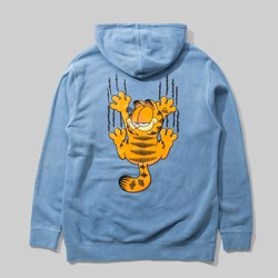 THE HUNDREDS X GARFIELD BAR PO HOOD LIGHT BLUE