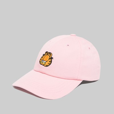 THE HUNDREDS X GARFIELD MOOD DAD HAT LIGHT PINK