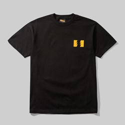 THE HUNDREDS X GARFIELD WILDFIRE SS TEE BLACK
