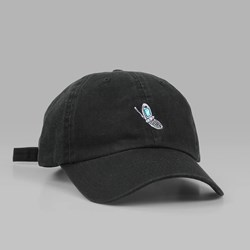 THE HUNDREDS x AARON KAI 'CELL' DAD CAP BLACK