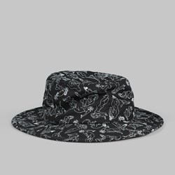 THE QUIET LIFE GIRLS SWAMP SUN HAT BLACK