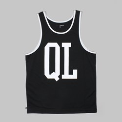 THE QUIET LIFE QL BASKETBALL TANK TOP BLACK