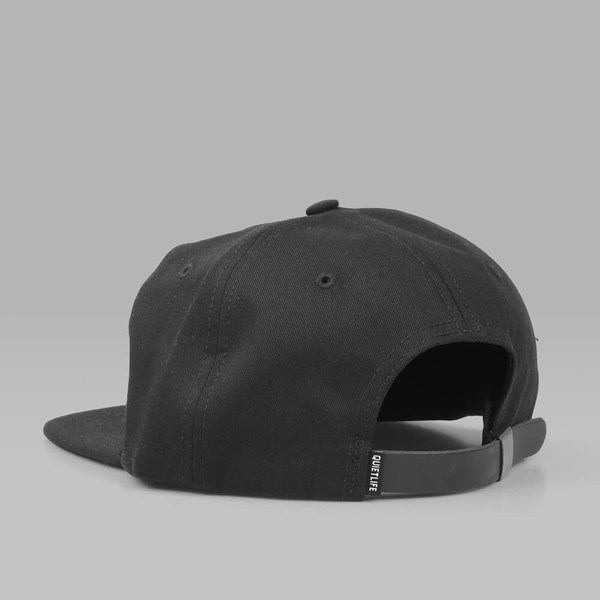 THE QUIET LIFE DUGOUT POLO CAP BLACK