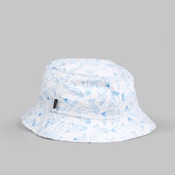 THE QUIET LIFE GIRLS BUCKET HAT WHITE