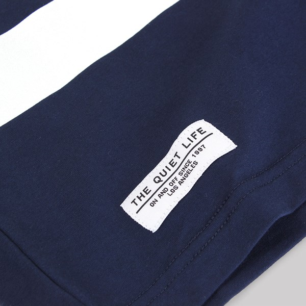 THE QUIET LIFE HOCKEY JERSEY NAVY-WHITE
