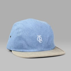 THE QUIET LIFE JUMP 4 PANEL CAP LIGHT DENIM