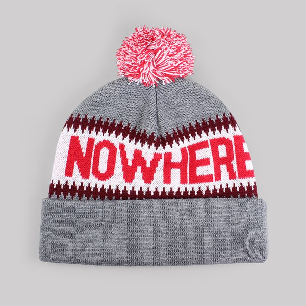 THE QUIET LIFE MIDDLE OF NOWHERE POM BEANIE GREY