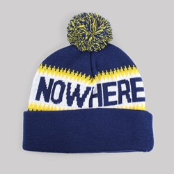 THE QUIET LIFE MIDDLE OF NOWHERE POM BEANIE NAVY