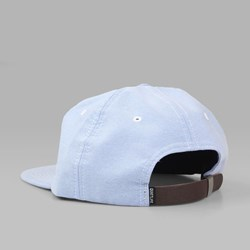THE QUIET LIFE OXFORD POLO CAP BLUE