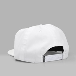 THE QUIET LIFE PARIS RELAXED SNAPBACK CAP WHITE