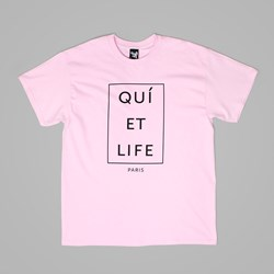 THE QUIET LIFE PARIS T SHIRT PINK
