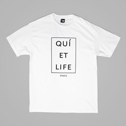 THE QUIET LIFE PARIS T SHIRT WHITE