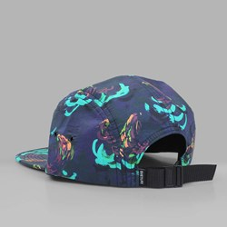 THE QUIET LIFE SATIN CLOUD 5 PANEL CAP GOLD