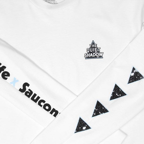 THE QUIET LIFE X SAUCONY SHADOW LS TEE WHITE