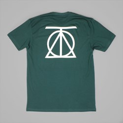 THEORIES CREST TEE FOREST GREEN