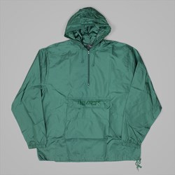 THEORIES FIELD OPS HOODED WINDBREAKER FOREST GREEN