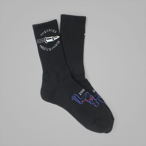 THEORIES MAGIC BULLETS SOCKS BLACK