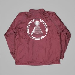THEORIES OF ATLANTIS CHAOS WINDBREAKER MAROON