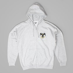 THEORIES OF ATLANTIS HANDS ZIP HOOD GREY