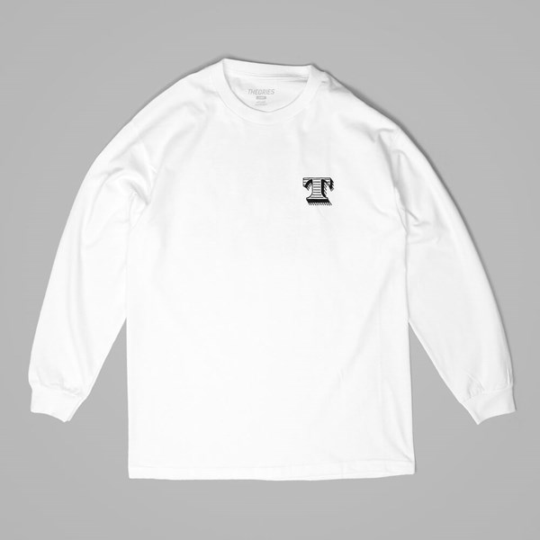 THEORIES OF ATLANTIS INITIATION LS TEE WHITE