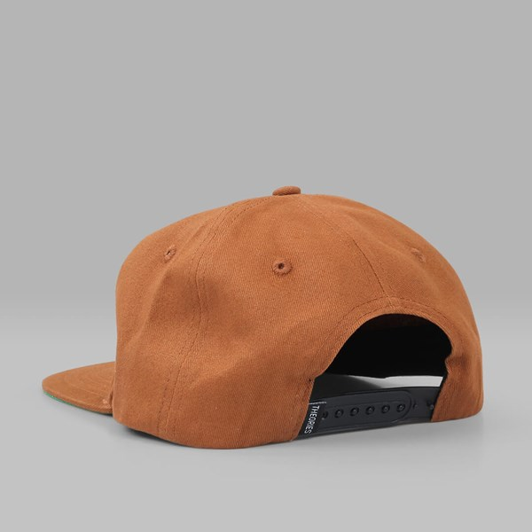 THEORIES OF ATLANTIS MOLUCH 6 PANEL CAP CINNAMON