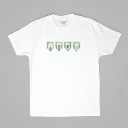 THEORIES OF ATLANTIS PAPER PLANES TEE WHITE