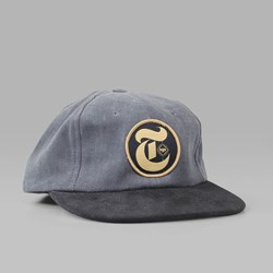 THEORIES OF ATLANTIS TIMES CORD CAP CHARCOAL