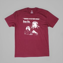 THEORIES PURPLE MOON SS T-SHIRT MAROON