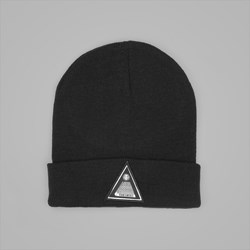 THEORIES THEOROMID FINE KNIT BEANIE BLACK