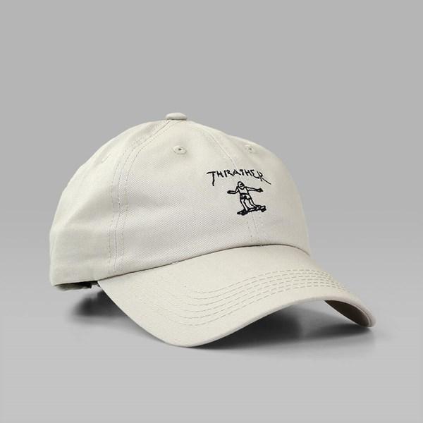 53b35bc52587a THRASHER GONZ OLD TIMER CAP TAN BLACK