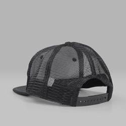 THRASHER ROSE MESH TRUCKER CAP BLACK