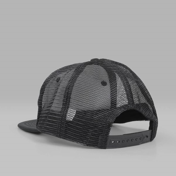 3ae75877351 THRASHER ROSE MESH TRUCKER CAP BLACK