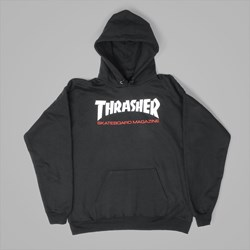 THRASHER TWO TONE SKATEMAG HOODY BLACK