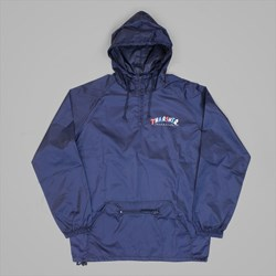 THRASHER X PARRA KNOCK OFF ANORAK PO NAVY