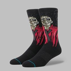 STANCE X MICHAEL JACKSON 'THRILLER' SOCKS BLACK