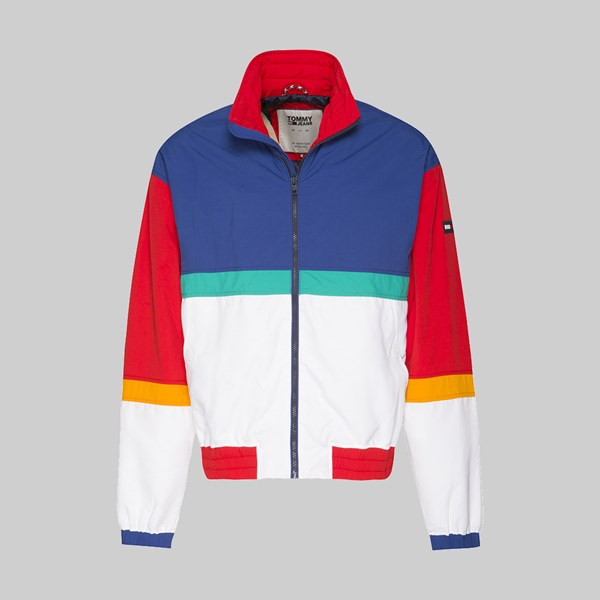 TOMMY JEANS PIECED JACKET LIMOGES MULTI