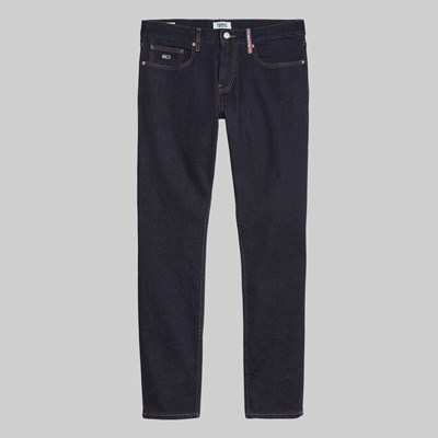 TOMMY JEANS SCANTON HERITAGE SELVAGE DENIM RINSE