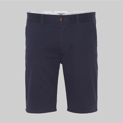 TOMMY JEANS ESSENTIAL CHINO SHORT BLACK IRIS