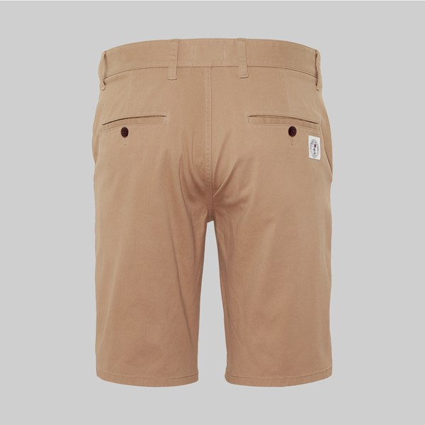 TOMMY JEANS ESSENTIAL CHINO SHORT TIGERS EYE