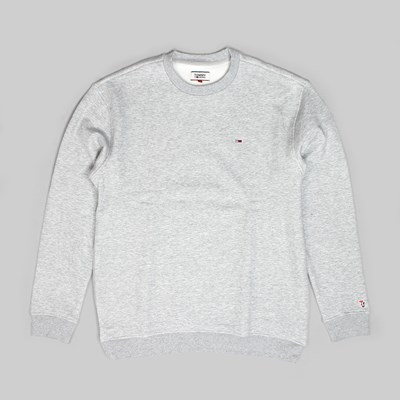 TOMMY JEANS CLASS HEAVYWEIGHT CREW GREY